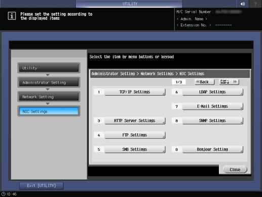 Scan|WINS/NetBIOS Settings