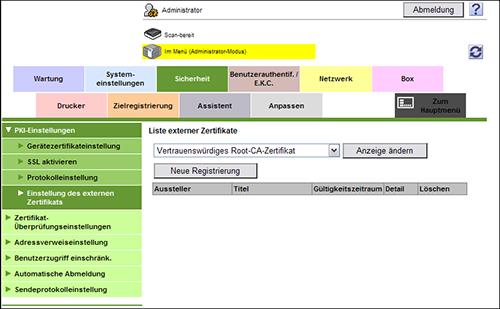 Web Management Tool