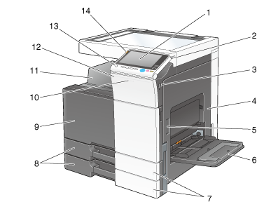 About this machine for 13 20 paper jam check rear door