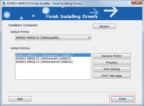 Easy Installation Process of the Printer Driver