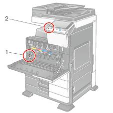 turning the power on or off rh manuals konicaminolta eu konica minolta c364 service manual konica minolta c364 series pcl manual