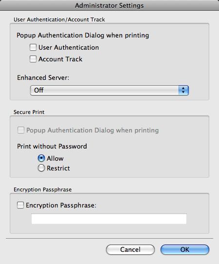 Pop Up Driver For Account Track On Mac Konica Minolta