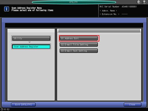 Registering a WebDAV Server as a Destination