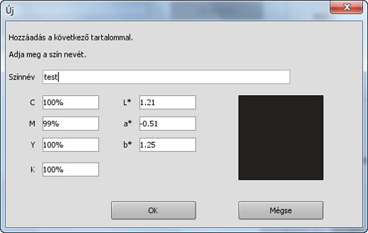 Képernyő szín visszaállítás